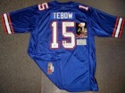 Tim Tebow Autographed Jersey