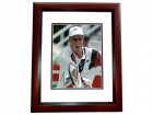 Todd Martin Signed - Autographed 8x10 inch Photo MAHOGANY CUSTOM FRAME - Guaranteed to pass PSA or JSA
