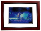 Train Signed - Autographed 11x14 inch Photo MAHOGANY CUSTOM FRAME - Guaranteed to pass PSA or JSA signed by Pat Monahan, Hector Maldonado, Jimmy Stafford, and Scott Underwood