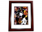 Troy Polamalu Signed - Autographed Pittsburgh Steelers 8x10 inch Photo MAHOGANY CUSTOM FRAME - Guaranteed to pass PSA or JSA