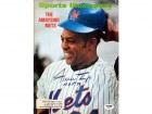 "Willie Mays Autographed Magazine Mets ""HOF 79"" PSA/DNA #U58697"