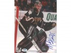 Marty Turco Autographed 8x10 Photo Stars PSA/DNA #U96046