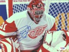 Curtis Joseph Autographed 8x10 Photo Red Wings PSA/DNA #U96479