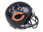 Brian Urlacher Signed Chicago Bears Riddell Mini Helmet w/HOF 2018