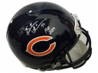Brian Urlacher Signed Chicago Bears Riddell Authentic Proline Helmet w/HOF 2018