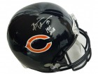 Brian Urlacher Signed Chicago Bears Riddell Full-Size Replica Helmet w/HOF 2018