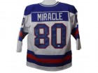 1980 USA Miracle on Ice Hockey Team Signed Size XL White Jersey (20 Sigs) JSA
