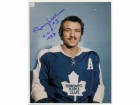 Norm Ullman (Toronto Maple Leafs) Signed 8x10 Photo