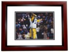 Vince Ferragamo Signed - Autographed Los Angeles Rams 8x10 inch Photo MAHOGANY CUSTOM FRAME - Guaranteed to pass PSA or JSA