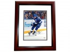 Vincent Vinny Lecavalier Signed - Autographed Tampa Bay Lightning 11x14 inch Photo - MAHOGANY CUSTOM FRAME - JSA Certificate of Authenticity (COA)