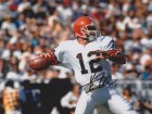 Vinny Testeverde Signed - Autographed Cleveland Browns 8x10 inch Photo - Guaranteed to pass PSA or JSA