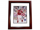 Vinny Testeverde Signed - Autographed New York Jets 8x10 PRO BOWL Photo MAHOGANY CUSTOM FRAME - Guaranteed to pass PSA or JSA