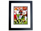 Vince Young Signed - Autographed Texas Longhorns 8x10 inch Photo - BLACK CUSTOM FRAME - Guaranteed to pass PSA or JSA - 2005 NCAA National Champion