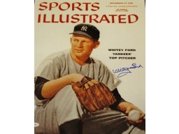 Whitey Ford Signed - Autographed New York Yankees 16x20 inch Photo with JSA Witnessed Authenticity