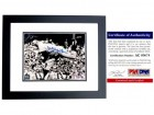Whitey Ford Signed - Autographed New York Yankees 8x10 inch Photo BLACK CUSTOM FRAME - PSA/DNA Certificate of Authenticity (COA)