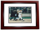 Wayne Garrett Signed - Autographed New York Mets 8x10 Photo MAHOGANY CUSTOM FRAME - 1969 World Series Champions - Miracle Mets