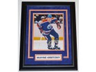 Wayne Gretzky Signed - Autographed Edmonton Oilers 8x10 Photo - Deluxe Custom FRAME