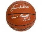 Dominique Wilkins Signed Spalding Indoor/Outdoor Basketball w/Human Highlight Film