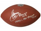 Aeneas Williams Signed Wilson Limited Full Size NFL Football w/1990's All Decade Team