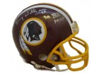 Doug Williams Autographed Washington Redskins Mini Helmet w/XXII MVP inscription
