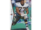Willie Roaf Signed - Autographed New Orleans Saints Upper Deck Card - Guaranteed to pass PSA or JSA