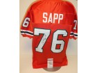 Warren Sapp Signed - Autographed Custom Orange Jersey with witnessed JSA Authentication - Miami Hurricanes