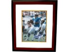 Warren Moon signed Houston Oilers 8x10 Photo HOF06 Custom Framed