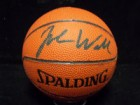 John Wallace Signed Spalding Authentic Mini Basketball