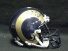 Kurt Warner (St. Louis Rams) Signed Ridell St. Louis Rams Authentic Mini Helmet