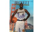 Chris Webber Signed Beckett Magazine (Faded Signature, Dated: 11/1993)