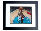 Wes Matthews Autographed Portland Trail Blazers 8x10 Photo BLACK CUSTOM FRAME