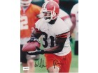 William Green Autographed Cleveland Browns 8x10 Photo
