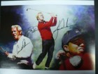 Tiger / Nicklaus, Jack / Palmer, Arnold Woods Signed 11x14 Photo By Tiger Woods, Arnold Palmer and Jack Nicklaus