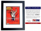 Danny Wuerffel and Steve Spurrier Signed - Autographed 1997 Sports Illustrated SI Magazine Cover BLACK CUSTOM FRAME - 1996 National Champions - PSA/DNA Certificate of Authenticity (COA)