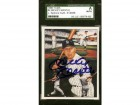 Mickey Mantle Autographed 1986 TCMA Card #4 New York Yankees JSA #X14938