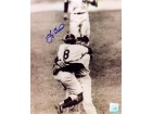 Yogi Berra Signed 16X20 Photo - Yogi With Don Larsen Perfect Game