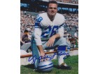 Yale Lary Signed - Autographed Detroit Lions 8x10 Photo - Hall of Fame - 9x Pro Bowler