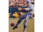 Yale Lary Signed - Autographed Detroit Lions 8x10 inch Photo - Guaranteed to pass PSA or JSA - Hall of Fame - 9x Pro Bowler - Deceased 2017