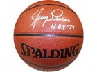 Jerry Lucas NBA 50 Autographed / Signed Indoor / Outdoor New York Knicks Basketball
