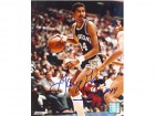 George Gervin Autographed / Signed 8x10 Photo
