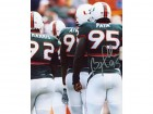 Bryan Pata Autographed / Signed Miami Hurricanes 8x10 Photo