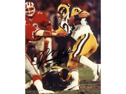 John Cappelletti Autographed / Signed 8x10 Photo - Los Angeles Rams
