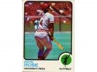 Pete Rose Unsigned 1973 Topps Card