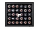 Wall Mount Hockey Puck Display For 30 Pucks