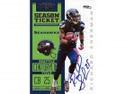 Richard Sherman Autographed 2012 Contenders Rookie Card #86 Seattle Seahawks RS Holo Stock #52329