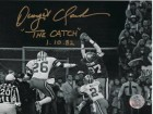Dwight Clark Autographed Photo with Special Inscription #270R