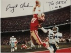 Dwight Clark Autographed Photo with Special Inscription #271R