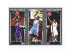 LeBron James, Carmelo Anthony and Chris Bosh Unsigned 2003-2004 Topps Rookie Card