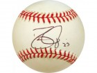 Dave Justice Autographed Baseball