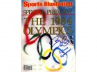 Bart Conner 2 Golds Gymnastics Autographed / Signed Sports Illustrated 1984 Preview Magazine